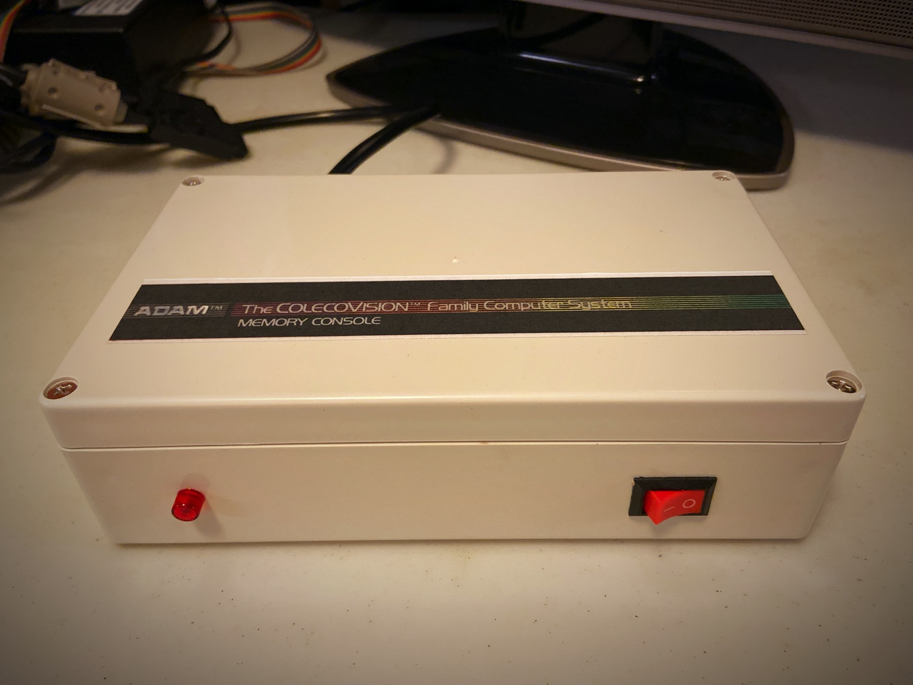 The Walters external power supply for the Coleco ADAM.