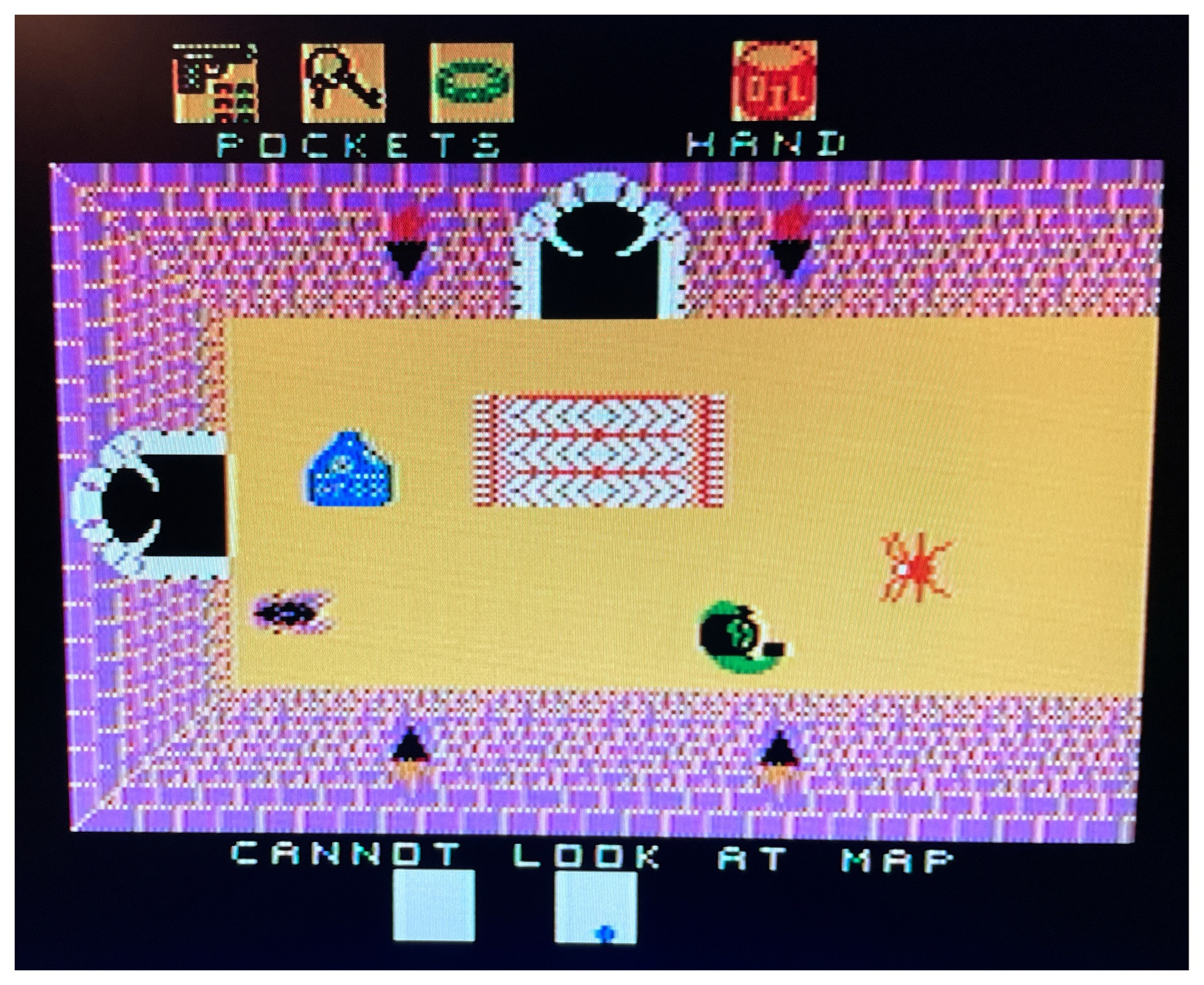 Screenshot of Alcazar (1986) for Coleco ADAM