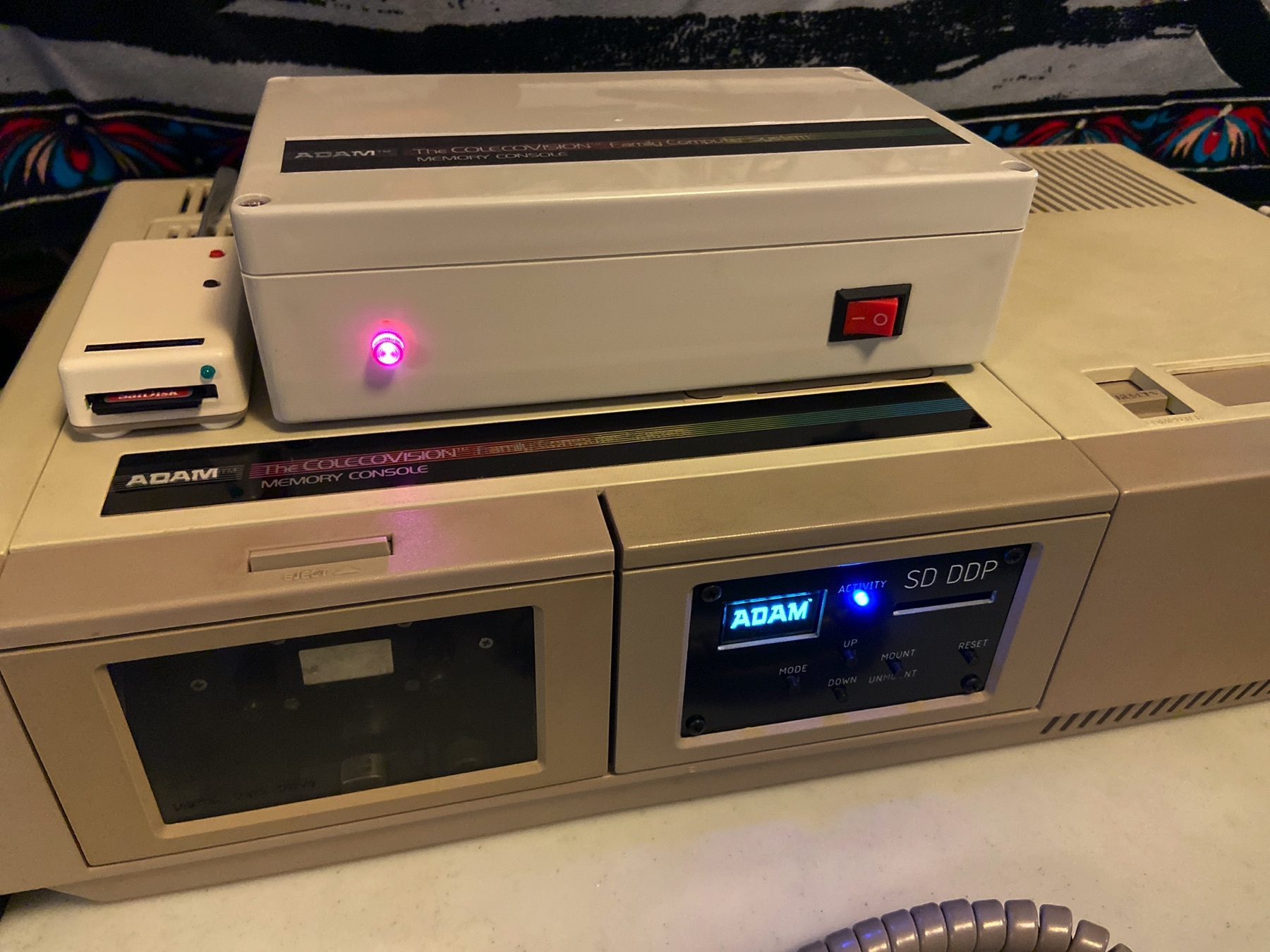The power supply and SD-DDP fully integrated into my ADAM system! Also pictured is my ADE Lite drive.