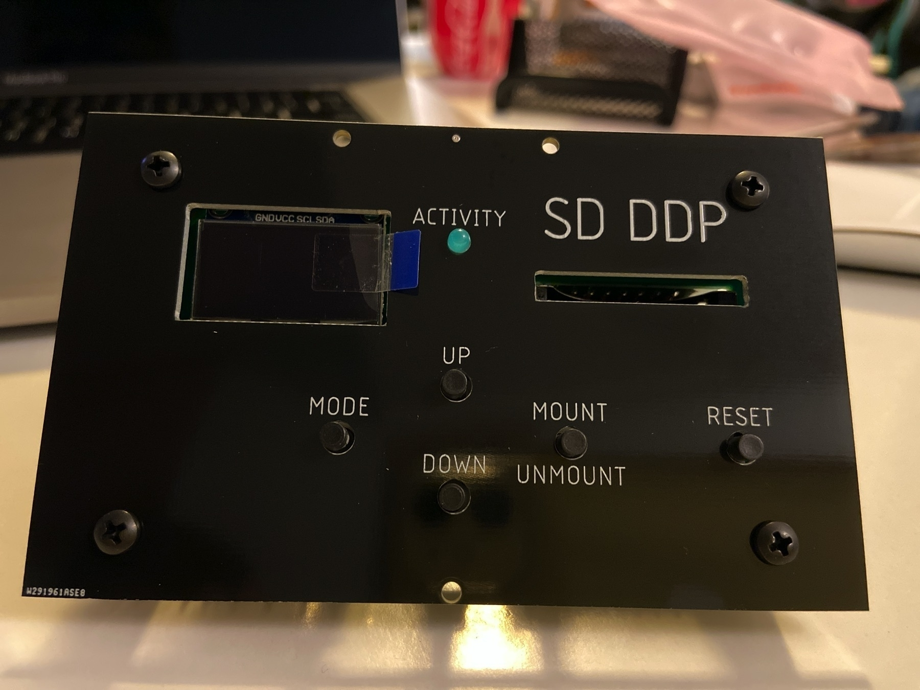 The ADAM SD-DDP prior to installation.