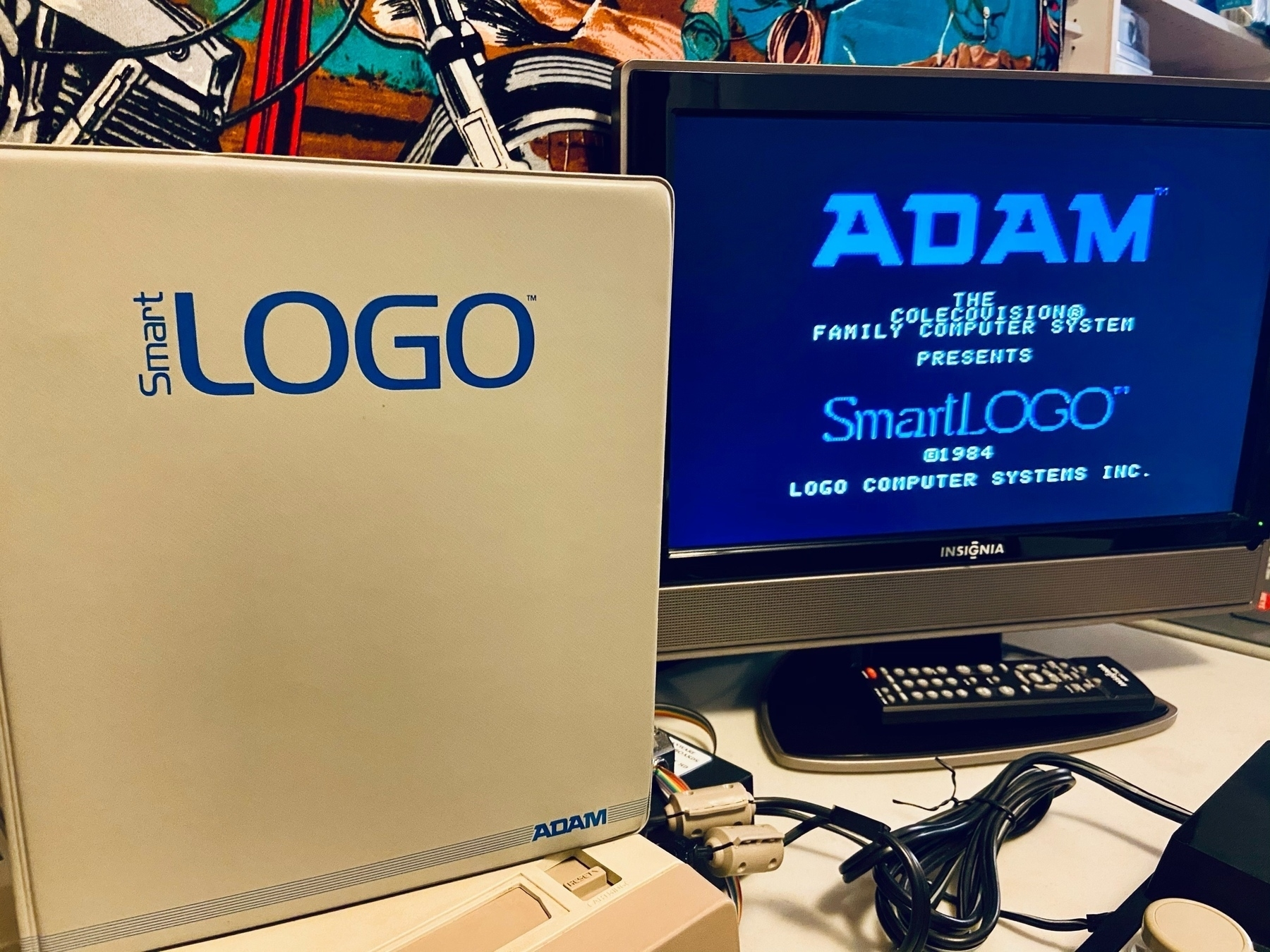 SmartLOGO for Coleco ADAM